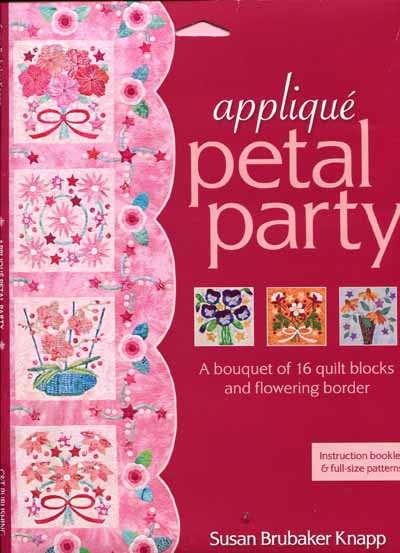appliqué petal party von Susan Brubaker Knapp