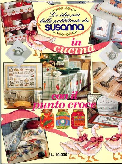 Susanna In Cucina Con Il Punto Croce Kloeppelbuch De