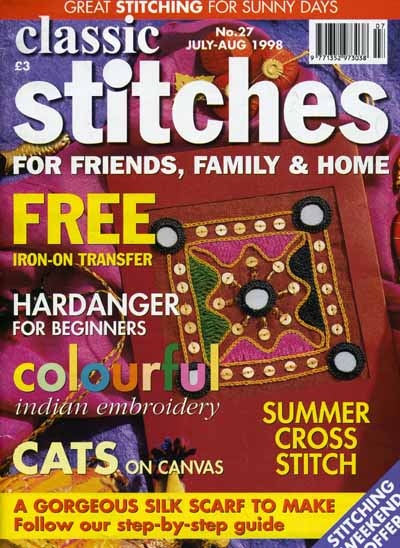 classic stiches No 27 July-Aug 1998