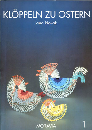 Bobbin Lace for easter by Jana Novak