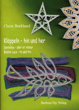 Bobbin Lace - to an fro by Claire Burkhard