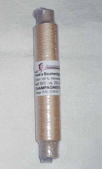 Frank´s Cotton - Thread 30/3 Champagner Rose 32