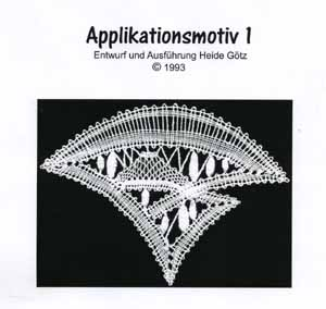 Pattern Applikationsmotif 1 by Heide Goetz