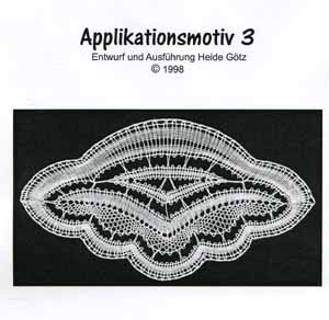 Pattern Applikationsmotif 3 by Heide Goetz