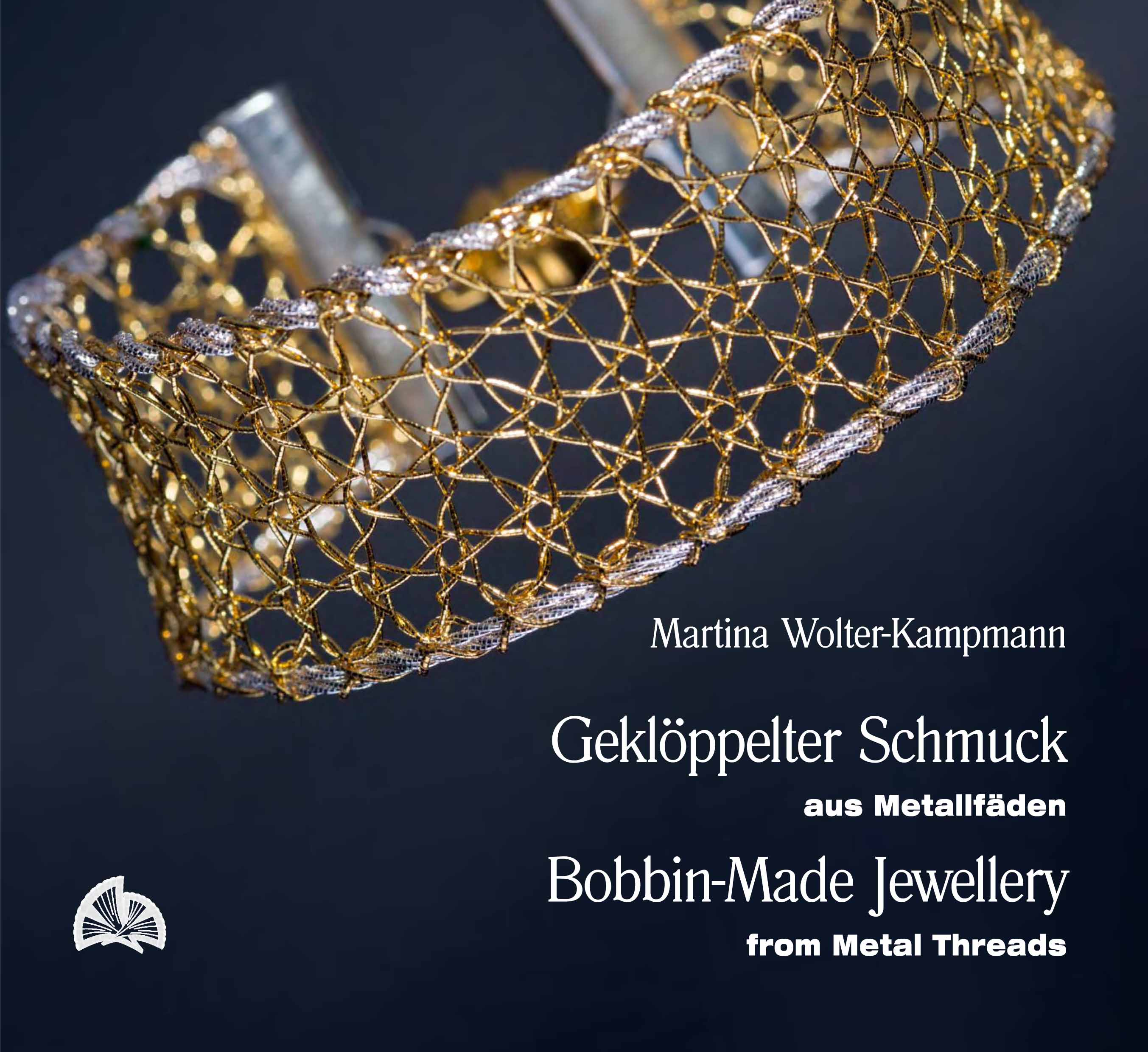 Bobbin-made Jewellery with Metal Threads by Martina Wolter-Kampmann