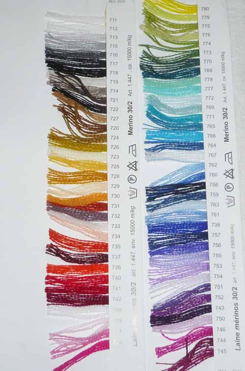 Colourcard Merino 30/2