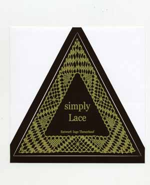 "Sticker ""simply Lace"""