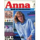 Anna 1987 April Kurs: Häkeln