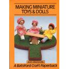 Making Miniature Toys & Dolls von Jean Greenhowe