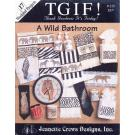 A Wild Bathroom  Jeanette Crews Designs no 215