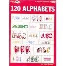 120 Alphabets Leisure Art Leafleat 2285