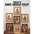 Portrait of Famous American Indians