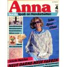 Anna 1986 April Lehrgang: Ajourstickerei