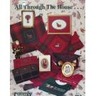 All Through the House Country Cross-Stitch Book 58