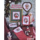 Holiday Nestlings Country Cross-Stitch Book 72