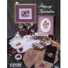 Pansy Garden Country Cross-Stitch Book 88