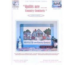 Quilts are ….. Country comforts  Linda Myers # NS - 06