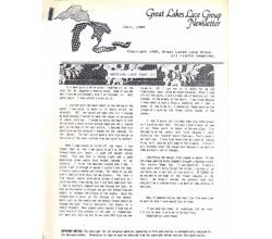 Great Lakes Lace Group Newsletter Juli 1989
