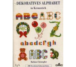 DMC Dekoratives Alphabet in Kreuzstich von Barbara Christopher